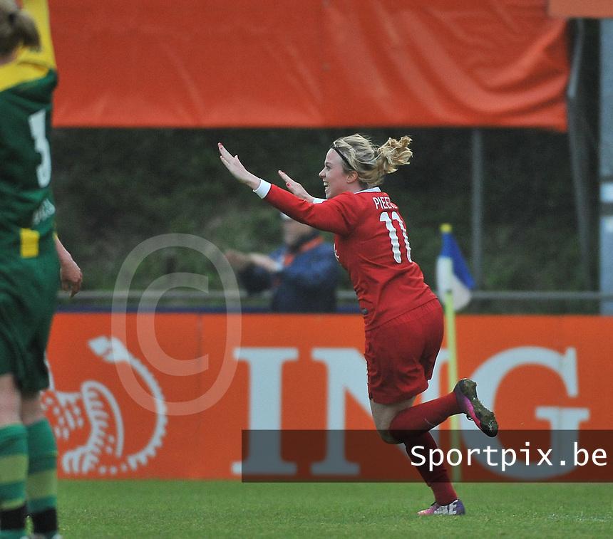 KNVB Beker Finale : ADO Den Haag - FC Twente : Marlous Pieete scoort de gelijkmaker<br /> foto DAVID CATRY / Nikonpro.be