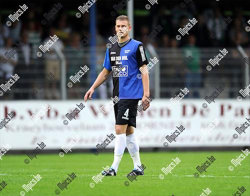 2011-08-17 / Voetbal / seizoen 2011-2012 / Rupel-Boom - Racing Mechelen / Wesley Snoeys..Foto: mpics