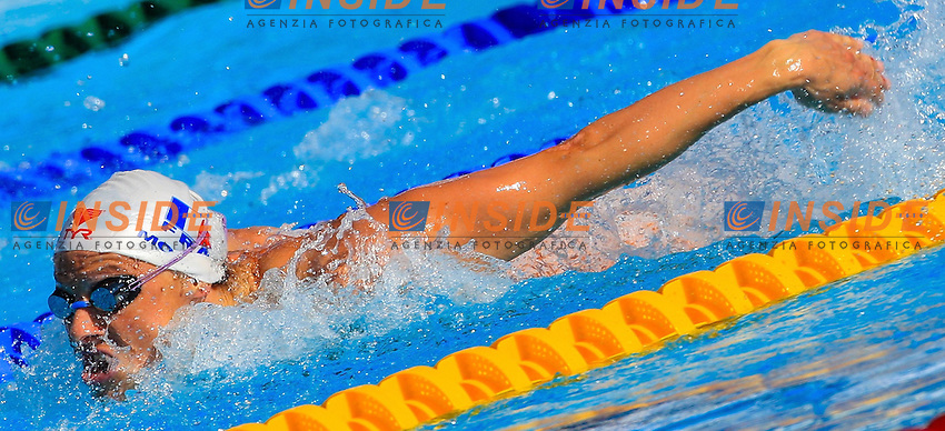 Roma 26th July 2009 - 13th Fina World Championships From 17th to 2nd August 2009.100 Butterfly Women's.Mongel Aurore FRA. photo: Roma2009.com/InsideFoto/SeaSee.com
