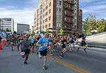 Runners start the 30 to 39 year old race during the 2nd Annual Reno Mile in downtown Reno on Saturday, Sept. 7, 2019.the 2nd Annual Reno Mile in downtown Reno on Saturday, Sept. 7, 2019.