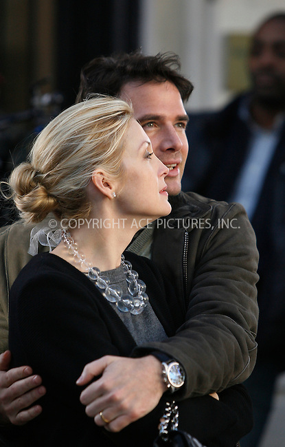 WWW.ACEPIXS.COM . . . . .  ....October 25 2011, New York City....Actors Kelly Rutherford and Matthew Settle on the set of the TV series 'Gossip Girl' on the Upper East side on October 25 2011 in New York City....Please byline: CURTIS MEANS - ACE PICTURES.... *** ***..Ace Pictures, Inc:  ..Philip Vaughan (212) 243-8787 or (646) 679 0430..e-mail: info@acepixs.com..web: http://www.acepixs.com
