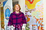 Local Artist from Lixnaw Jean McNamara has donated two of his paintings to Kilflynn School