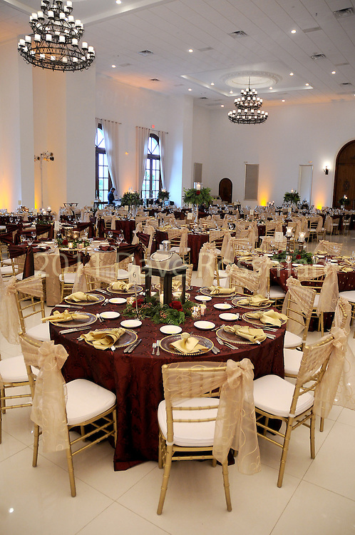 The ballroom at the 27th annual Trees of Hope Holiday Gala at The Citadel on Kirby Friday Oct. 04,2016.(Dave Rossman photo)