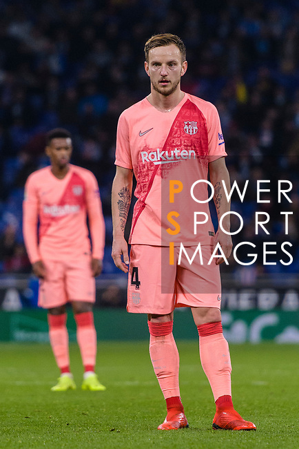 Ivan Rakitic of FC Barcelona in action during the La Liga 2018-19 match between RDC Espanyol and FC Barcelona at Camp Nou on 08 December 2018 in Barcelona, Spain. Photo by Vicens Gimenez / Power Sport Images