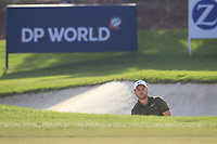 Jordan Smith (ENG) on the 15th green during the final round of the DP World Tour Championship, Jumeirah Golf Estates, Dubai, United Arab Emirates. 18/11/2018<br /> Picture: Golffile | Fran Caffrey<br /> <br /> <br /> All photo usage must carry mandatory copyright credit (© Golffile | Fran Caffrey)