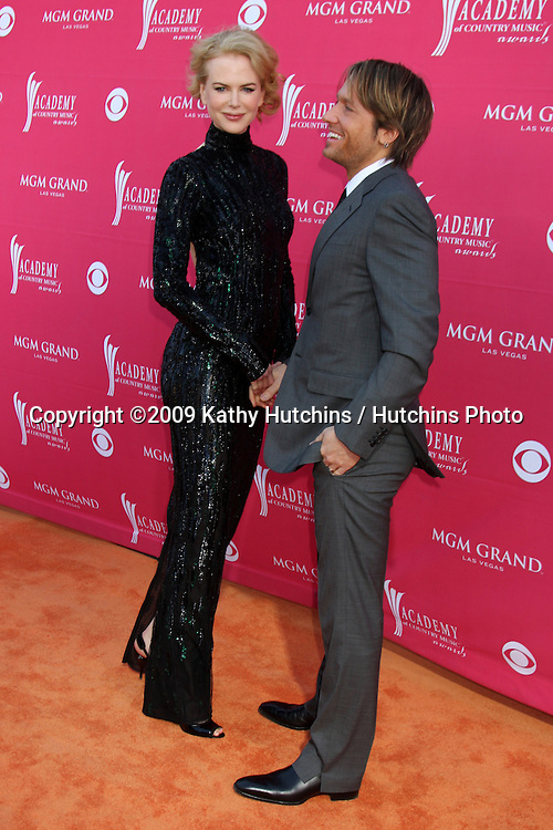 Nicole Kidman & Keith Urban arriving at the 44th Academy of Country Music Awards at the MGM Grand Arena in  Las Vegas, NV on April 5, 2009.©2009 Kathy Hutchins / Hutchins Photo....                .