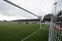 General view of the ground during Arsenal Women vs Bristol City Women, Barclays FA Women's Super League Football at Meadow Park on 1st December 2019