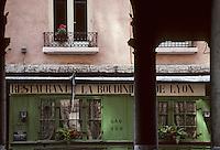 Europe/France/Rhône-Alpes/69/Rhône/Lyon: Bouchon lyonnais rue René Leynaud