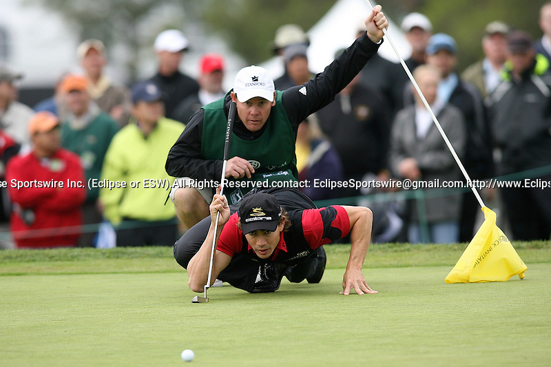 February 06,2009 La Jolla, CA :  Camilo Villegas during the 2nd round of the Buick Invitational held at Torrey Pines Golf Course.