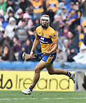 Aron Shanagher of Clare celebrates his late goal during their All-Ireland semi-final against Galway at Croke Park. Photograph by John Kelly.
