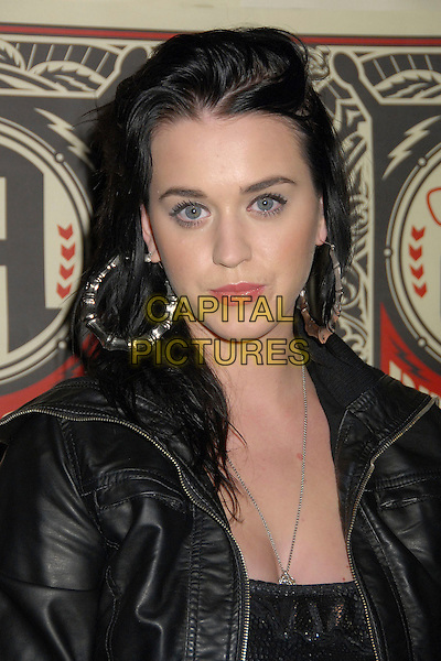 KATIE PERRY.Guitar Center's 2008 Drum-Off Competition Finals at the Music Box Theatre, Hollywood, California, USA, .5 January 2008..portrait headshot.CAP/ADM/BP.©Byron Purvis/AdMedia/Capital Pictures.