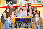 ICA: The Camp ICA Ladies who completed their project Local View in Stained Glass at their Headquarters in Camp on Thursday night. Front lr:.Breda Quirke, Brid Moran, Hazel Evans, Kitty Crean, Peggy Fitzgerald and Mary Moran. Back l-r: Maureen Sayers, Mary O'Shea, Kathleen Simmons,.Dolly Chambers, Kay Connell, Mary Jo Slattery and Amelia Day.