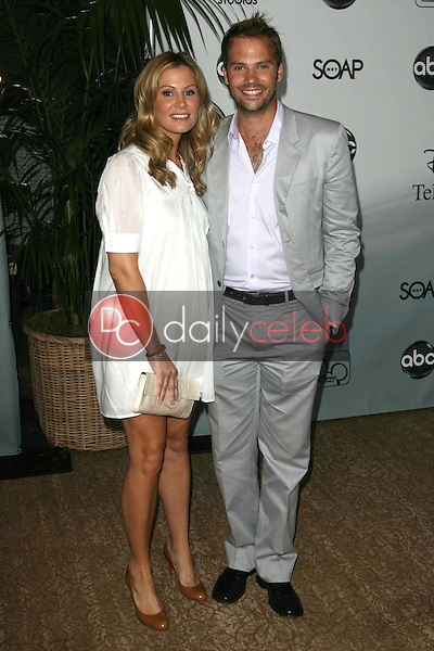 Tracy Hutson and Barry Watson<br />