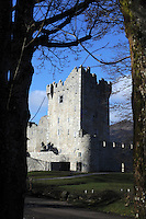 Ross Castle on Lough Lein in Killarney in County Kerry<br /> Photo Don MacMonagle<br /> e: info@macmonagle.com