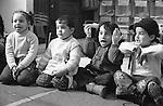 Shatila, UNRWA camp. &quot;Beit Atfal As Sumood&quot;, a social aid NGO, takes care of the children. Here, the Kindergarden.<br />  <br /> Chatila, camp de l'UNRWA. &laquo;Beit Atfal As Soumoud&raquo;, une ONG d'aide sociale &agrave; l'int&eacute;rieur du camp prend en charge les enfants. Ici le jardin d'enfants.