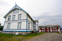 Norway, Troms. There has been a trading post at Sandtorgholmen since the early 13th century. Hotel.