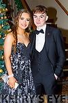 Ciara McCarthy and Joe O'Brien attending the Mercy Mounthawk Debs in the Ballyroe Heights Hotel on Friday.