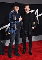 "05 February 2019 - Westwood, California - Robert Rodriguez, Ed Skrein. ""Alita: Battle Angel"" Los Angeles Premiere held at Regency Village Theater. Photo Credit: Birdie Thompson/AdMedia"
