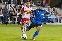 San Jose, CA - April 13, 2016: The San Jose Earthquakes defeated the New York Red Bull 2-0 at Avaya Stadium.