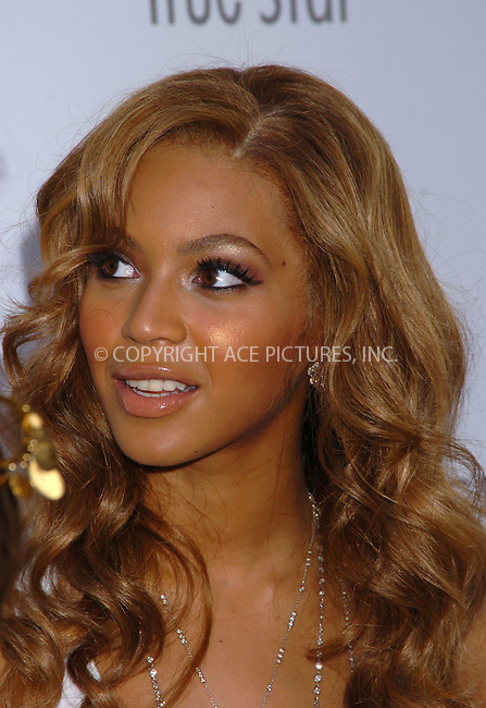 Beyonce Knowles joined Tommy Hilfiger at the Chelsea Art Museum to launch his 'True Star' fragrance. New York City. June 24 2004. Please byline: AJ SOKALNER/ACE Pictures..*PAY-PER-USE*....IMPORTANT: Please note that our old trade name New York Photo Press has changed to ACE Pictures. New York Photo Press and ACE Pictures are both owned by All Celebrity Entertainment, Inc.......All Celebrity Entertainment, Inc..Contact: Alecsey Boldeskul, (646) 267 6913..Philip vaughan, (646) 769 0430..e-mail: info@acepixs.com..Philip.Vaughan@acepixs.com