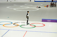 OLYMPIC GAMES: PYEONGCHANG: 09-02-2018, Gangneung Oval, Training session, Nao Kodaira (JPN), ©photo Martin de Jong