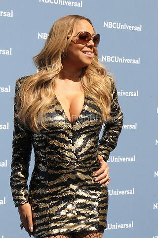 NEW YORK, NY - MAY 16: Mariah Carey at the NBCUniversal 2016 Upfront at Radio City Music Hall in New York City on May 16, 2016. Credit: RW/MediaPunch