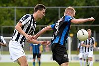 ASSEN - Voetbal - ACV - Hercules, KNVB beker, seizoen 2017-2018, 19-08-2017, Pascal Huser (r) in duel met Kevin Ligtermoet