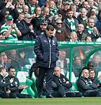 29.04.18 Celtic v Rangers: Graeme Murty dejection