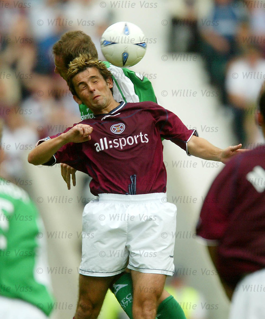 Paul Hartley, Hearts.stock season 2003-04..pic willie vass