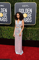 Golden Globe nominee Thandi Newton attends the 76th Annual Golden Globe Awards at the Beverly Hilton in Beverly Hills, CA on Sunday, January 6, 2019.<br /> *Editorial Use Only*<br /> CAP/PLF/HFPA<br /> Image supplied by Capital Pictures