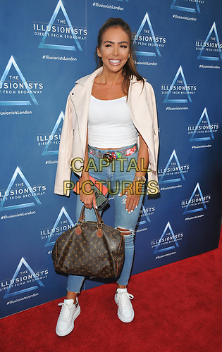 "Elma Pazar at the ""The Illusionists"" show press night, Shaftesbury Theatre, Shaftesbury Avenue, London, England, UK, on Wednesday 10th July 2019.<br /> CAP/CAN<br /> ©CAN/Capital Pictures"