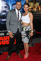 "LOS ANGELES, CA, USA - APRIL 16: Affion Crockett at the Los Angeles Premiere Of Open Road Films' ""A Haunted House 2"" held at Regal Cinemas L.A. Live on April 16, 2014 in Los Angeles, California, United States. (Photo by Xavier Collin/Celebrity Monitor)"