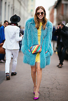 Chiara Ferragni at Milan Fashion Week (Photo by Hunter Abrams/Guest of a Guest)