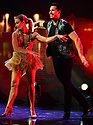 HOLLYWOOD, FL - FEBRUARY 25: Daniella Karagach and Gleb Savchenko perform on stage during 'Dancing With The Stars Live' at Hard Rock Live at Seminole Hard Rock Hotel & Casino Hollywood on February 25, 2020 in Hollywood, Florida.  ( Photo by Johnny Louis / jlnphotography.com )