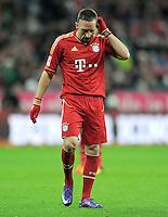 FUSSBALL   1. BUNDESLIGA  SAISON 2011/2012   17. Spieltag FC Bayern Muenchen - 1. FC Koeln       16.12.2011 Franck Ribery (FC Bayern Muenchen)