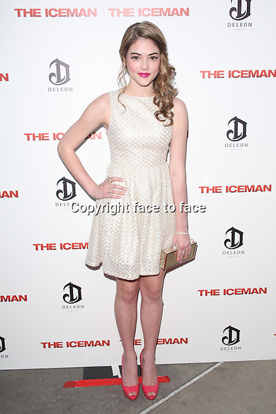 HOLLYWOOD, CA - APRIL 22: McKaley Miller at the Los Angeles premiere of Millennium Entertainment's 'The Iceman' at ArcLight Hollywood on April 22, 2013 in Hollywood, ..Credit: MediaPunch/face to face..- Germany, Austria, Switzerland, Eastern Europe, Australia, UK, USA, Taiwan, Singapore, China, Malaysia and Thailand rights only -