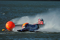 3-4 May 2008, Pickwick,TN USA.Todd Beckman leads Shaun Torrente through the chicane..©2008 F.Peirce Williams