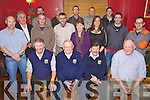 Banna Sea Rescue members pictured enjoying their Xmas party held in McElligot's Bar, Ardfert on Friday night. Seated l/r Thomas Fitzgerald, P.J. O'Riordan, Francis Lawlor and Mike McCarthy, standing l/r Tom Ward, Stephen Baker, John O'Riordan, Raymond Cowleman, Catherine O'Loughlan, Vicky Foley, Michael McCarthy and Edward Morrison, back l/r Sean Horgan, James O'Loughlan, Martin Maguire, Martin Woulfe and Tom Fitzgerald.