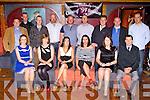 Killarney Community College class of 1994 who held a school reunion in the Killarney Avenue Hotel on Saturday night front row l-r: Marie Mangan-McCarthy, Sheila O'Connor, Siobhain O'Sullivan, Siobhain McCannon, Angela Dineen, Pat Dineen. Back row: Bobby Kelly, Philip McGough, Shane Moynihan, Jerimiah O'Shea, Adrian Hegarty, Patrick healy, Darren O'Shea and Tim clifford
