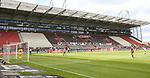 nph00001  17.05.2020 --- Fussball --- Saison 2019 2020 --- 2. Fussball - Bundesliga --- 26. Spieltag: FC Sankt Pauli - 1. FC Nürnberg ---  DFL regulations prohibit any use of photographs as image sequences and/or quasi-video - Only for editorial use ! --- <br /> <br /> Leeres Stadion  <br /> <br /> Foto: Daniel Marr/Zink/Pool//via Kokenge/nordphoto