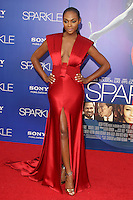 HOLLYWOOD, CA - AUGUST 16: Tika Sumpter at the 'Sparkle' film premiere at Grauman's Chinese Theatre on August 16, 2012 in Hollywood, California. ©mpi26/MediaPunch Inc. /NortePhoto.com<br /> <br /> **CREDITO*OBLIGATORIO** *No*Venta*A*Terceros*<br /> *No*Sale*So*third* ***No*Se*Permite*Hacer*Archivo***No*Sale*So*third*