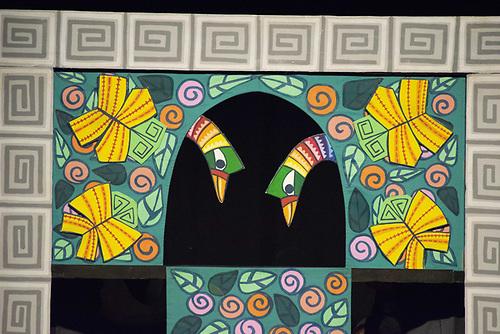 Obra Patito feo del grupo Teatro de las Estaciones en el Festival Internacional de Teatro de Santo Domingo 2018. Foto, Canek Denis