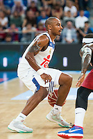 Real Madrid's player  Dontaye Draper during the match of the semifinals of Supercopa of La Liga Endesa Madrid. September 23, Spain. 2016. (ALTERPHOTOS/BorjaB.Hojas)
