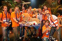 23-9-06,Leiden, Daviscup Netherlands-Tsjech Republic, Dutch supporters