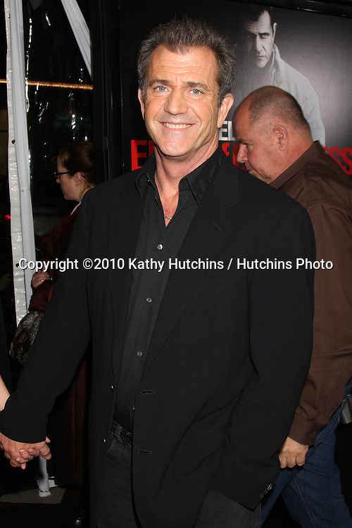 """Mel Gibson .arriving at the premiere of the """"Edge of Darkness"""".Grauman's Chinese Theater.Los Angeles, CA.January 26, 2010.©2010 Kathy Hutchins / Hutchins Photo...."""