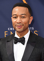 09 September 2018 - Los Angeles, California - John Legend . 2018 Creative Arts Emmy Awards - Arrivals held at Microsoft Theater. <br /> CAP/ADM/BT<br /> &copy;BT/ADM/Capital Pictures