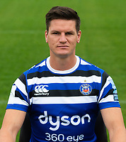Freddie Burns of Bath Rugby poses for a portrait. Bath Rugby Media Day on August 14, 2018 at Farleigh House in Bath, England. Photo by: Patrick Khachfe / Onside Images