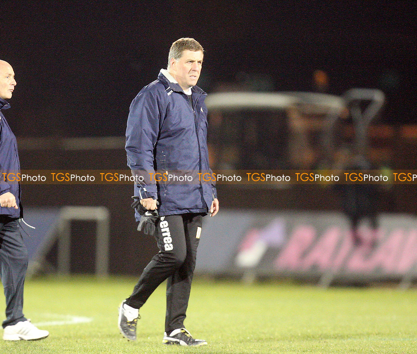 a dejected Bristol Rovers manager Mark McGhee at full time - Bristol Rovers vs Dagenham and Redbridge at the Memorial Stadium  - 08/12/12 - MANDATORY CREDIT: Dave Simpson/TGSPHOTO - Self billing applies where appropriate - 0845 094 6026 - contact@tgsphoto.co.uk - NO UNPAID USE.