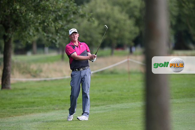 Daniel Gaunt (ENG) plays second shot up the 9th chasing a share of the lead during Round One of the 2015 BMW International Open at Golfclub Munchen Eichenried, Eichenried, Munich, Germany. 25/06/2015. Picture David Lloyd | www.golffile.ie