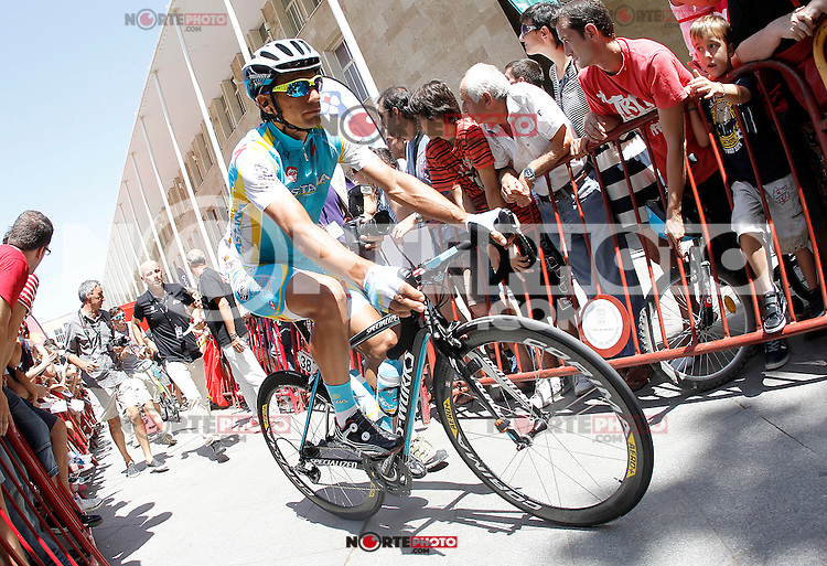Paolo Tiralongo during the stage of La Vuelta 2012 between Logroño and Logroño.August 22,2012. (ALTERPHOTOS/Acero) /NortePhoto.com<br />